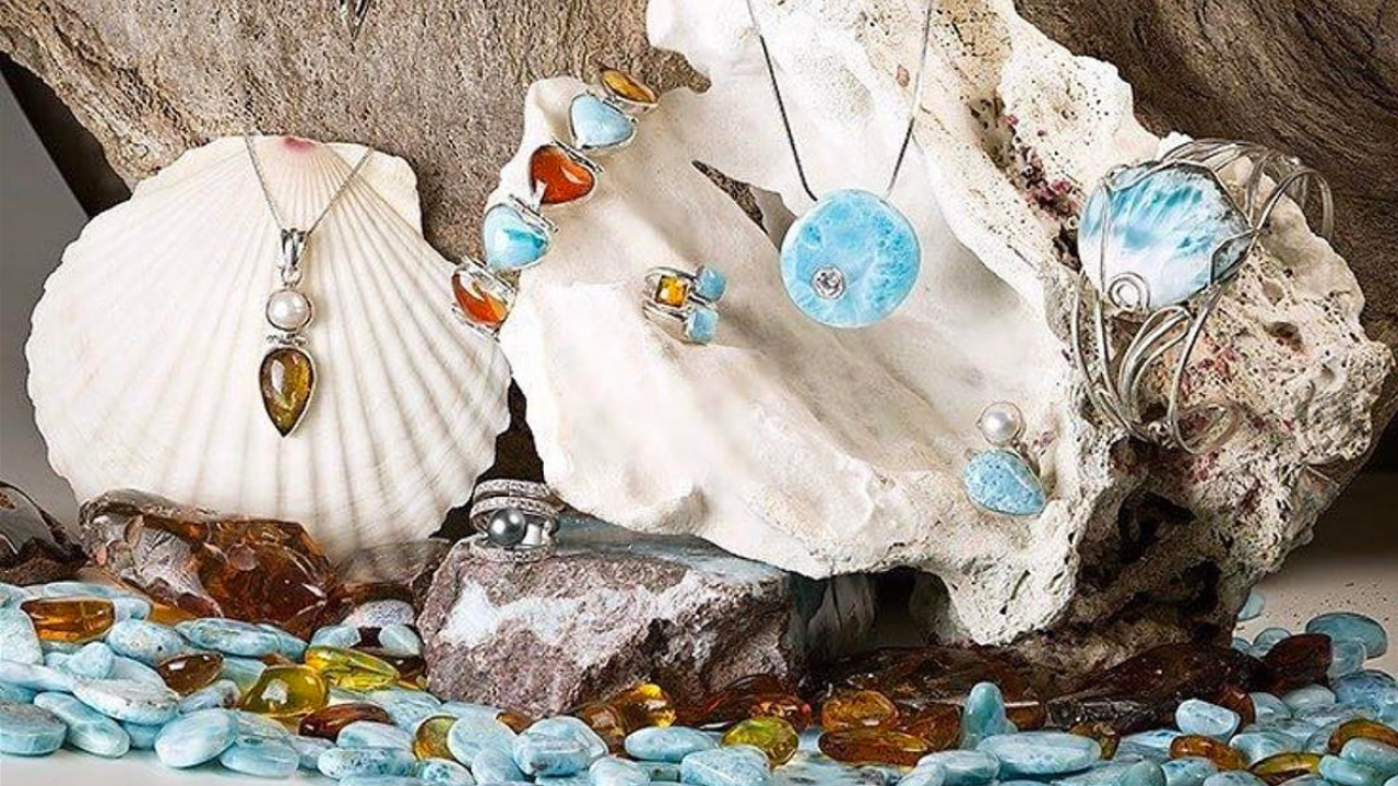 Larimar Jewelry of The Dominican Republic