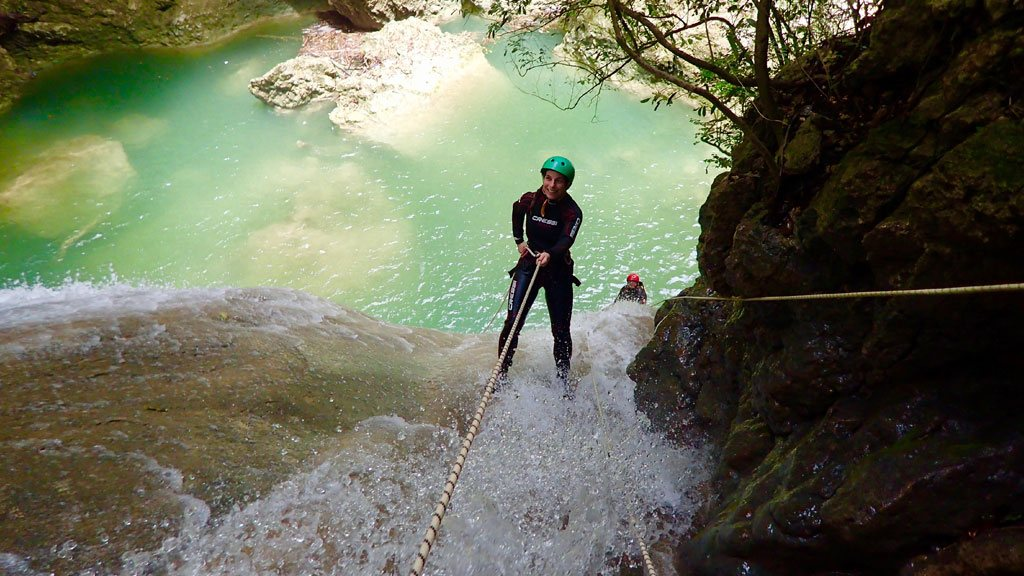 Canyoning in Cabarete, Dominican Republic